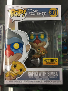 Funko POP! Disney- Rafiki With Simba #301 Exclusive