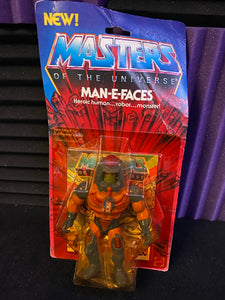 Mattel MOTU Vintage Man-E-Faces 12 Back MISB