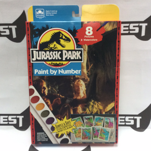 GOLDEN Jurassic Park Paint by Number 1993