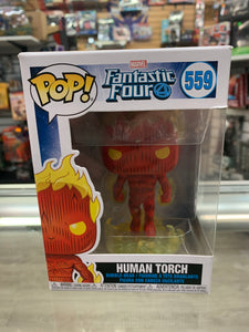Funko POP! Fantastic Four Human Torch #559