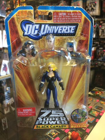 D.C. Universe infinite Heroes D.C. Comics 75 Years Of Super Power Black Canary Mattel