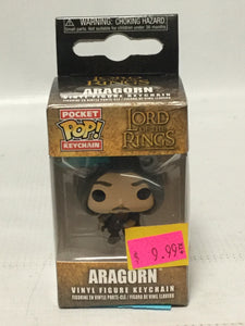 Pocket Keychain Pop! The Lord Of The Ring Aragorn