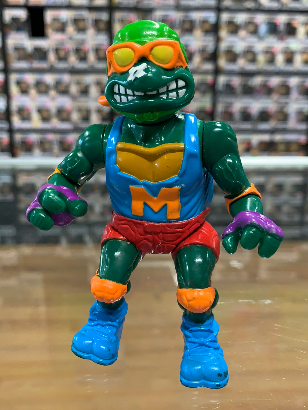 Playmates Teenage Mutant Ninja Turtles Skateboardin' Mike