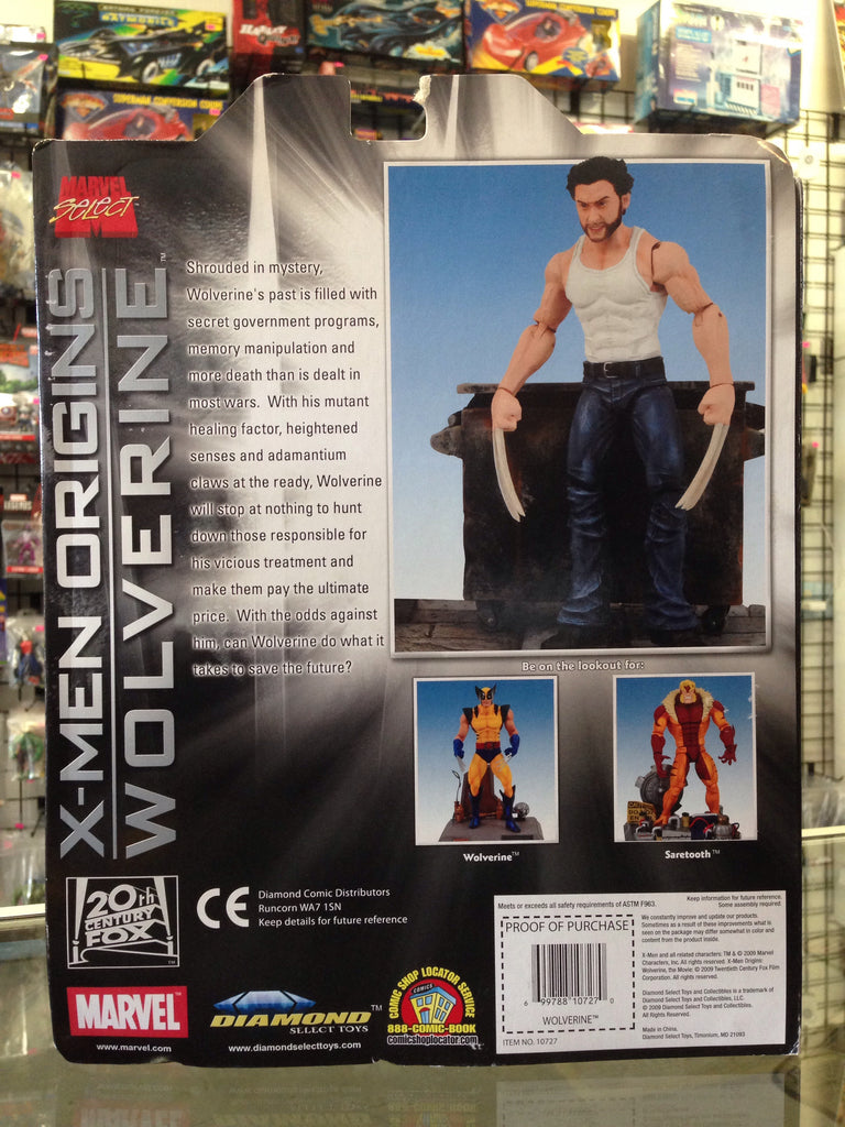 Diamond Marvel Select X-Men Origins Wolverine