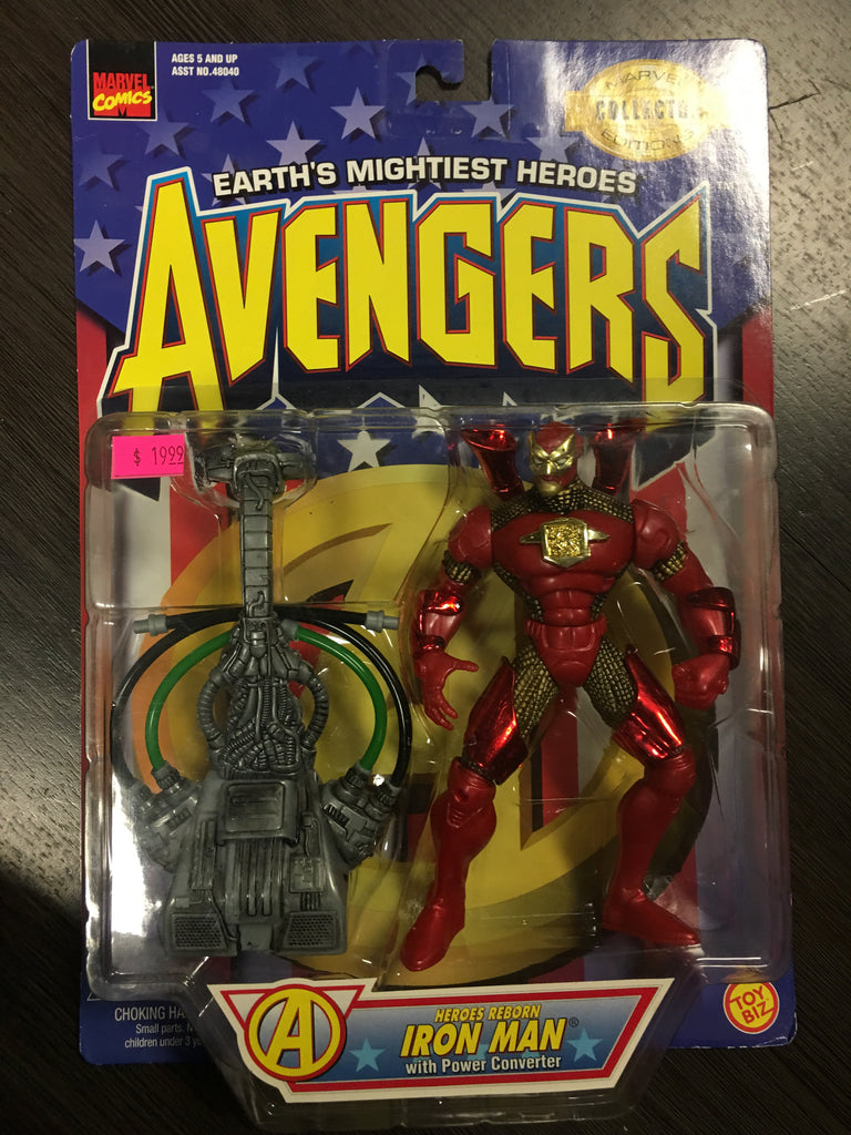 Marvel Earth's Mightiest Heroes Avengers Iron Man