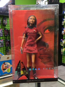 Mattel Barbie collector pink label Star Trek, Lt. Uhura