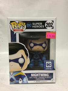 Funko Pop Heroes! DC Super Heroes Nightwing DC Legion Of Collectors Exclusive