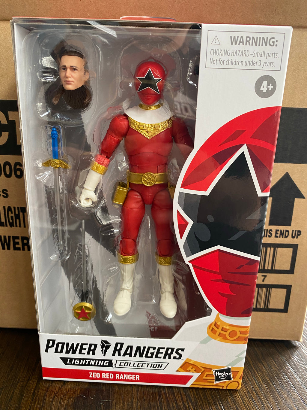Hasbro Power Rangers Lightning Collection Zeo Red Ranger
