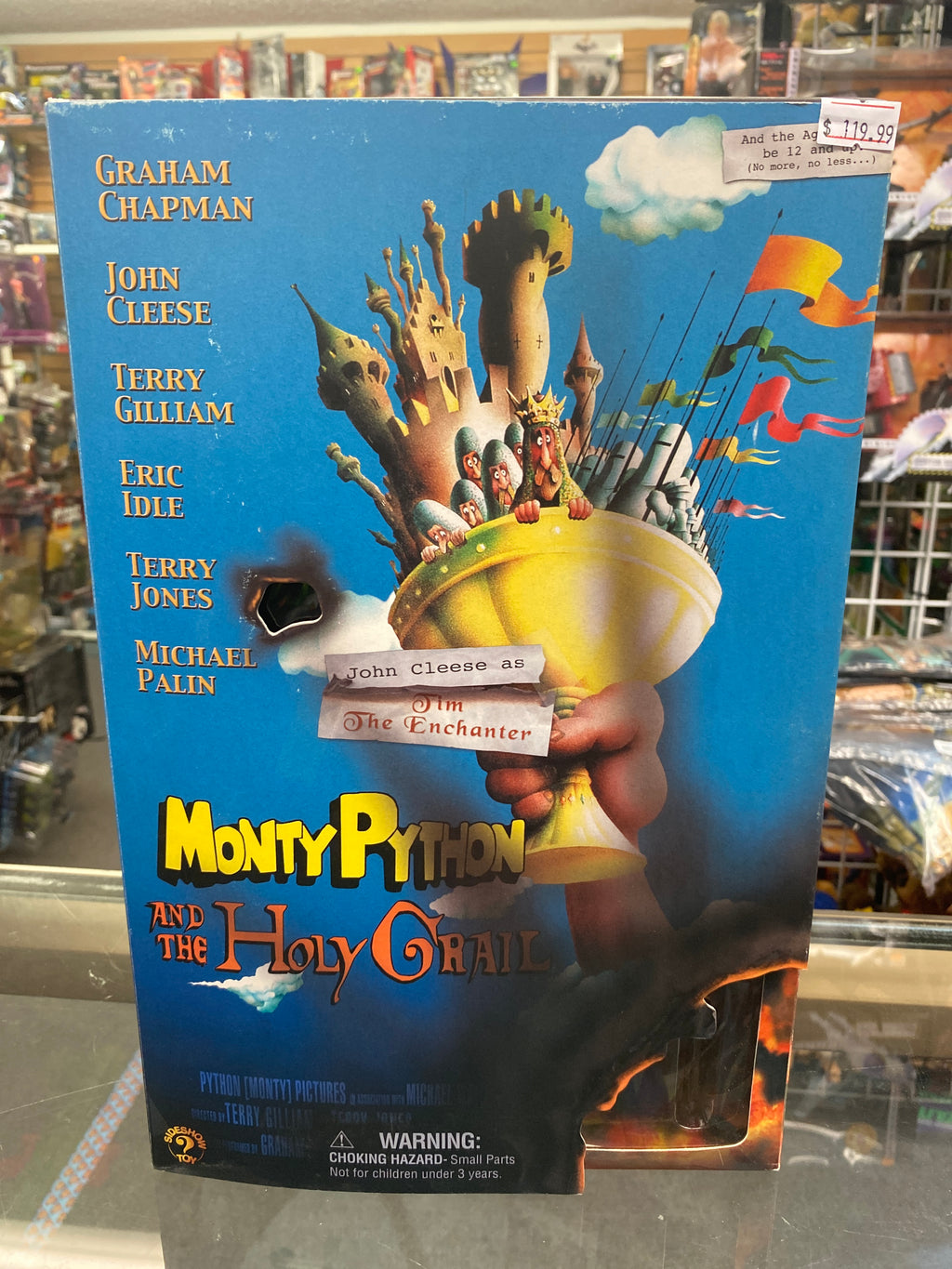 Sideshow Toy Monty Python and the Holy Grail John Cleese as Tim the Enchanter