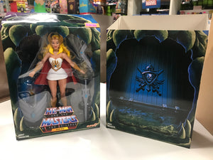 Super 7 He-Man and the Masters of the Universe Club GreySkull She-Ra MOTU
