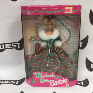 MATTEL Winter's Eve Barbie 1994