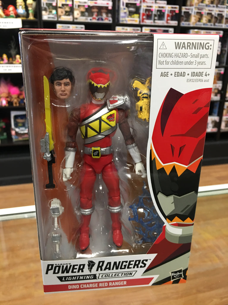 Saban's Power Rangers Lightning Collection Dino Charge Red Ranger