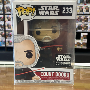 Funko Pop Star Wars Count Dooku #233 (Smugglers Bounty exclusive)
