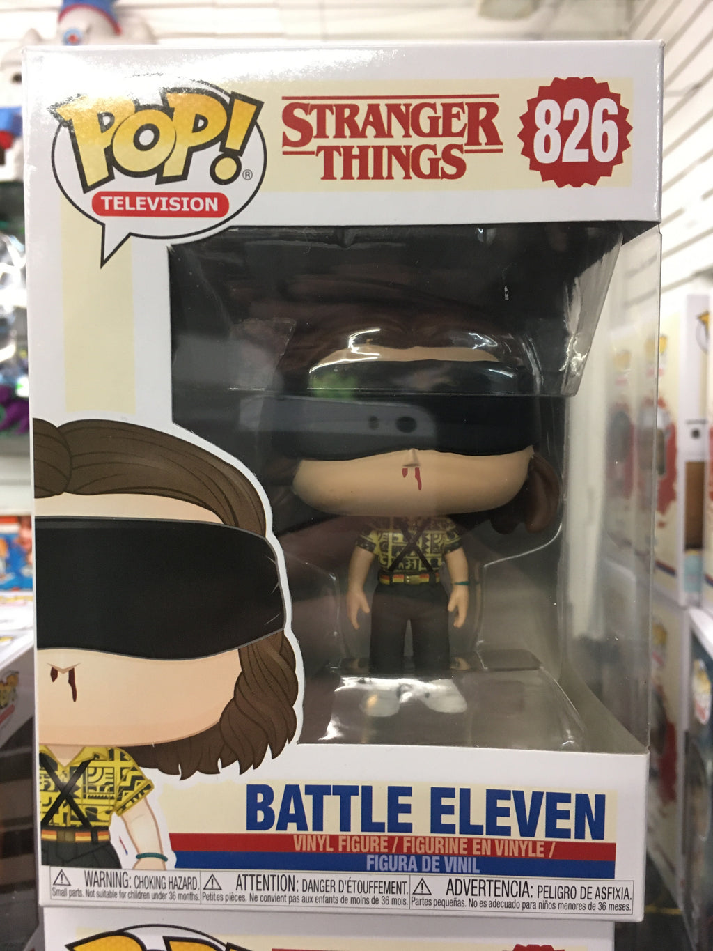 Funko POP! Television- Stranger Things Battle Eleven #826