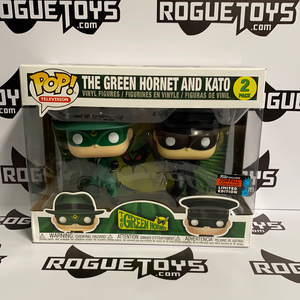 Funko Pop! Television The Green Hornet and Kato 2 Pack 2019 Fall Convention Exclusive