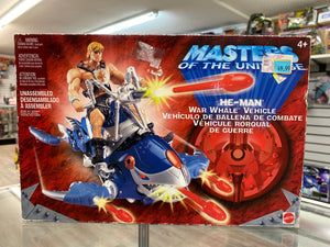 Mattel Masters of the Universe He-Man War Whale