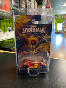 Mattel Hot Wheels Marvel Spider-Man Hammered Coupe