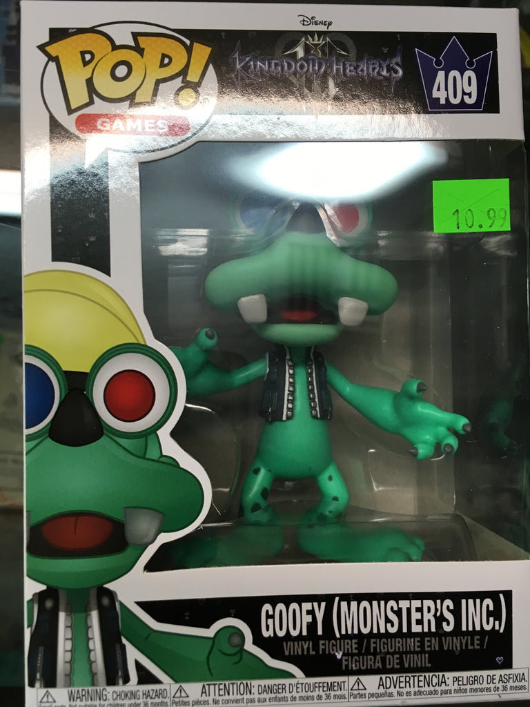 Funko POP! Games Kingdom Hearts Goofy (Monsters Inc.) 409