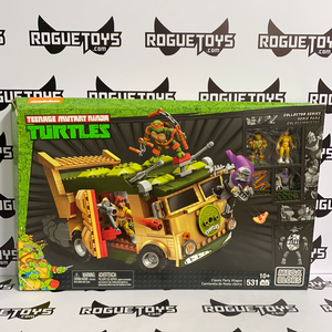 Mega Bloks Collector Series Teenage Mutant Ninja Turtles TMNT Classic Party Wagon