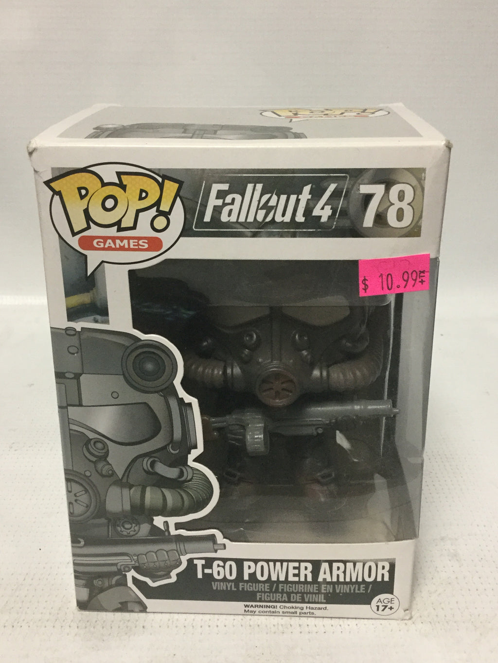 Funko POP Games! Fallout 4 78 T-60 Power Armor