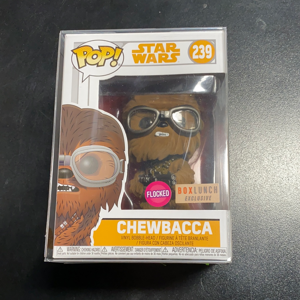 Funko POP! Star Wars Chewbacca Box Lunch Exclusive Flocked 239
