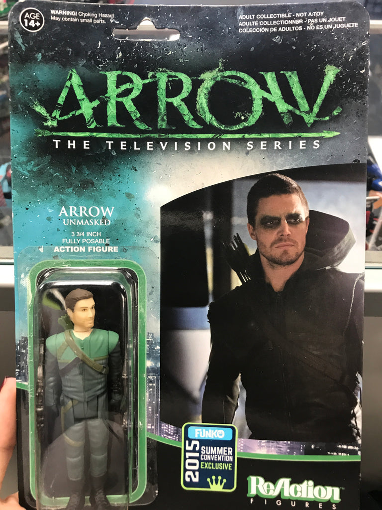 Arrow The Television Show Arrow Unmasked