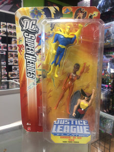 Mattel DC Universe Justice League Unlimited Hawkgirl, Dr. Fate & Vixen