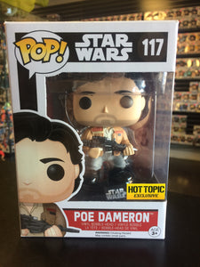 Funko Pop! Star Wars Poe Dameron #117 (Hot Topic exclusive)
