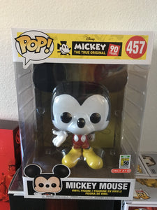 "2019 SDCC Funko POP! Disney Target Mickey Mouse 10"" Exclusive"