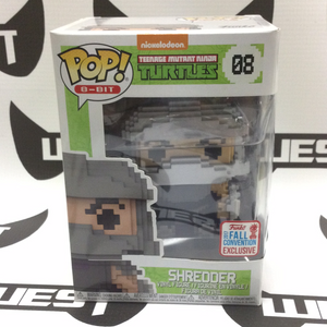 FUNKO POP! 8-Bit #08 TMNT Shredder (2017 Fall Convention Exclusive)