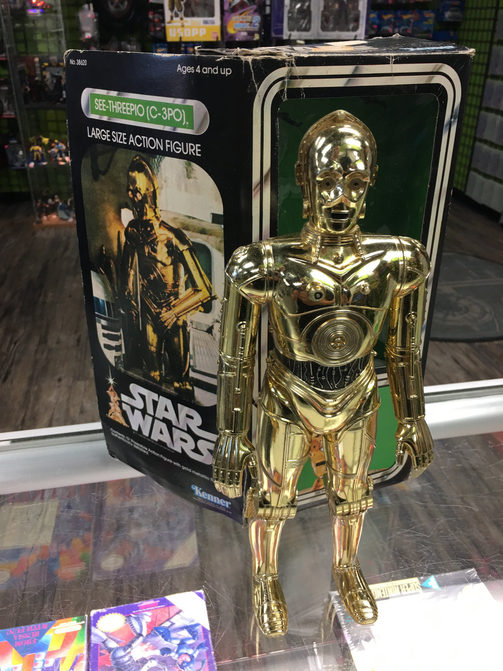 "Star Wars Vintage 12"" C-3PO with Box"