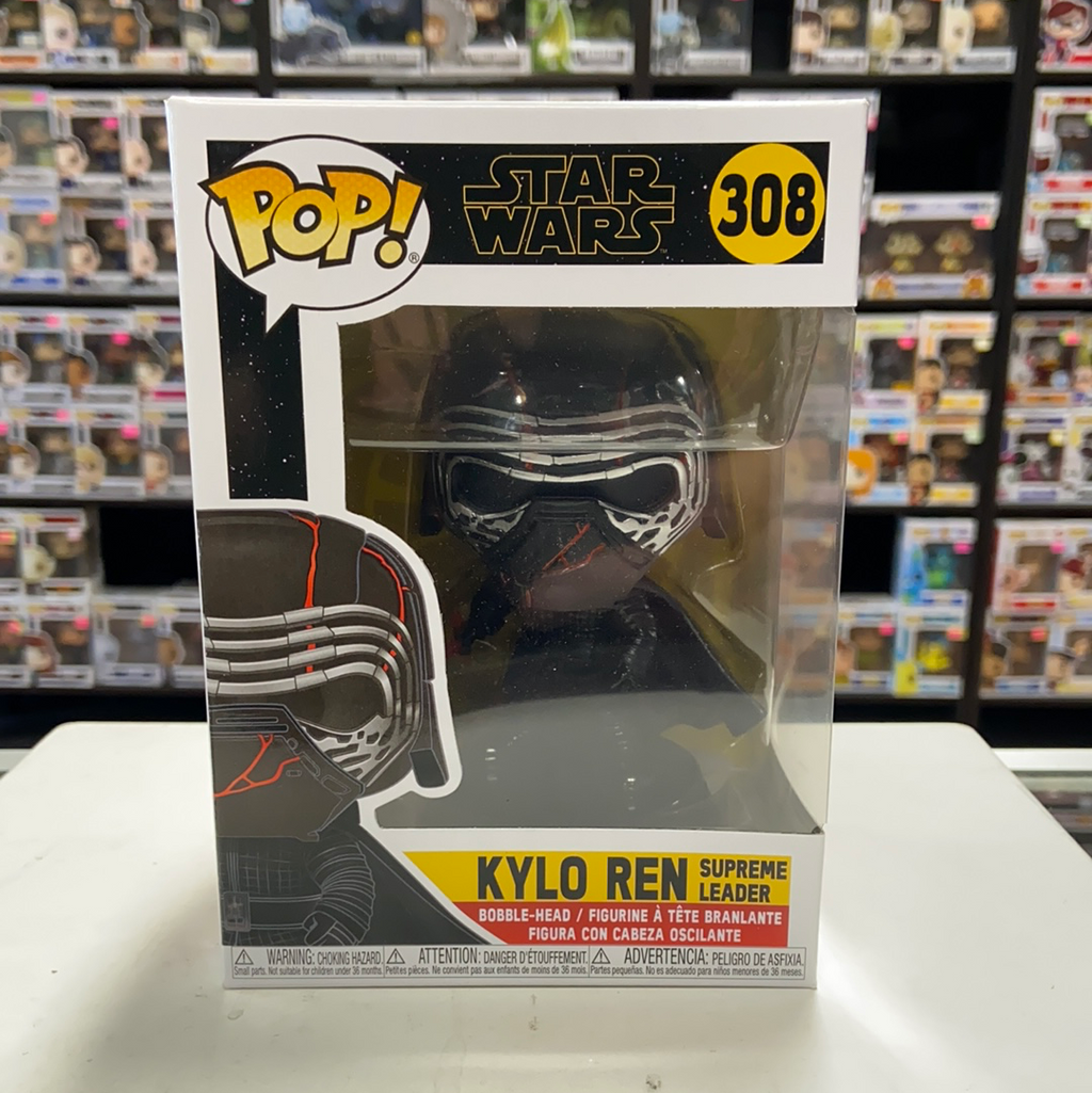 Funko Pop! Star Wars Kylo Ren Supreme Leader #308