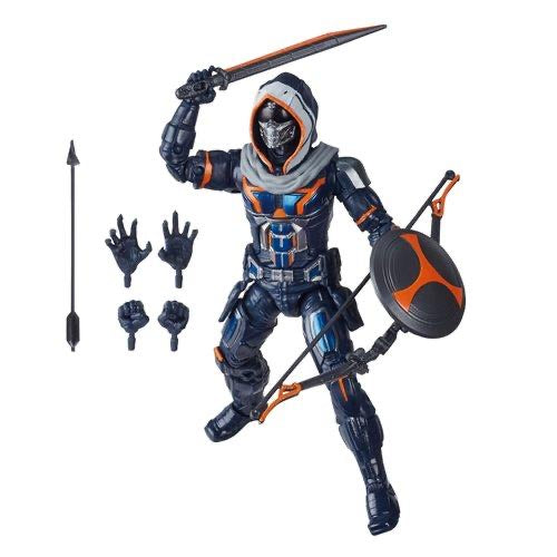 Hasbro Marvel Legends Black Widow Wave Crimson Dynamo BAF Taskmaster