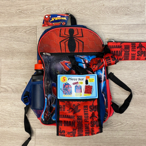 Backpack - Spider-Man (5 Piece set)