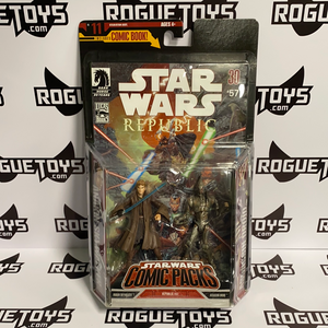 Hasbro Star Wars Republic Comic Packs Anakin Skywalker and Assassin Droid