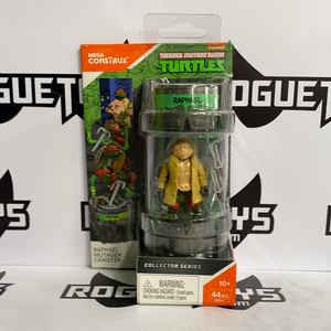 Mega Constructs Teenage Mutant Ninja Turtles TMNT Raphael Collector Series