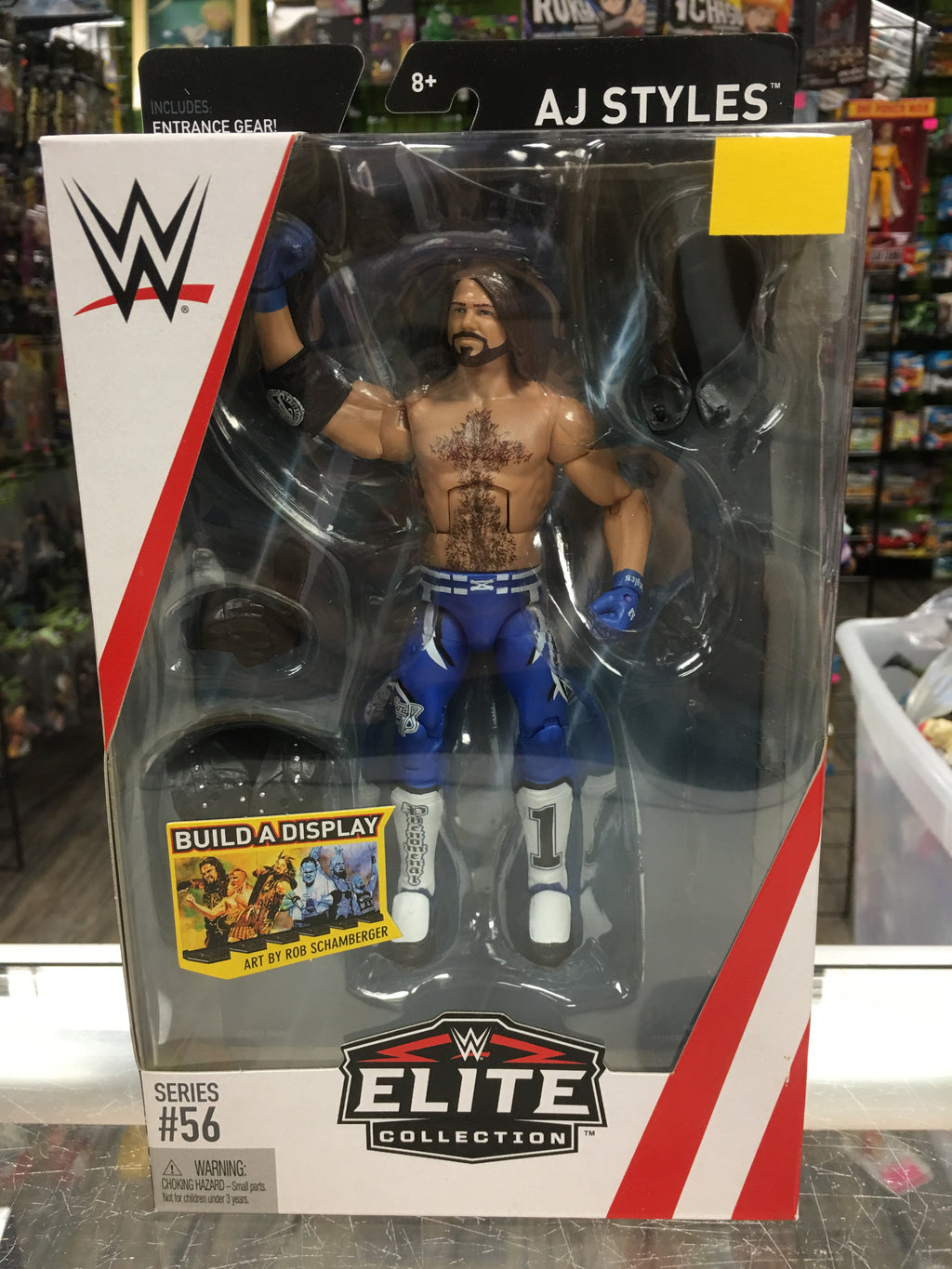 WWE Elite Collection AJ Styles