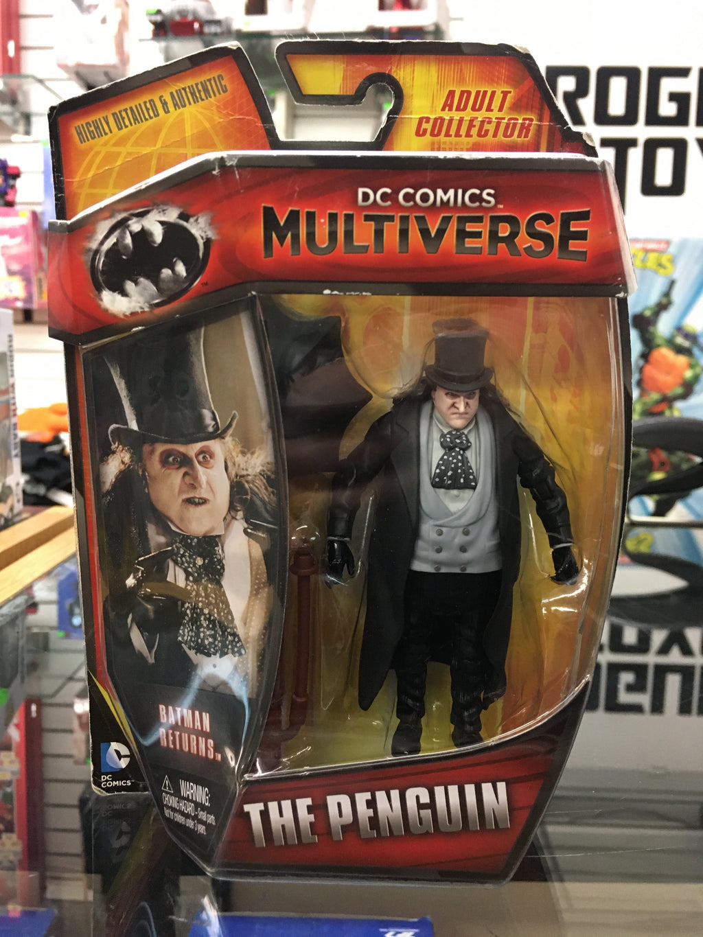 "DC Multiverse 4"" Batman Returns- The Penguin action figure"