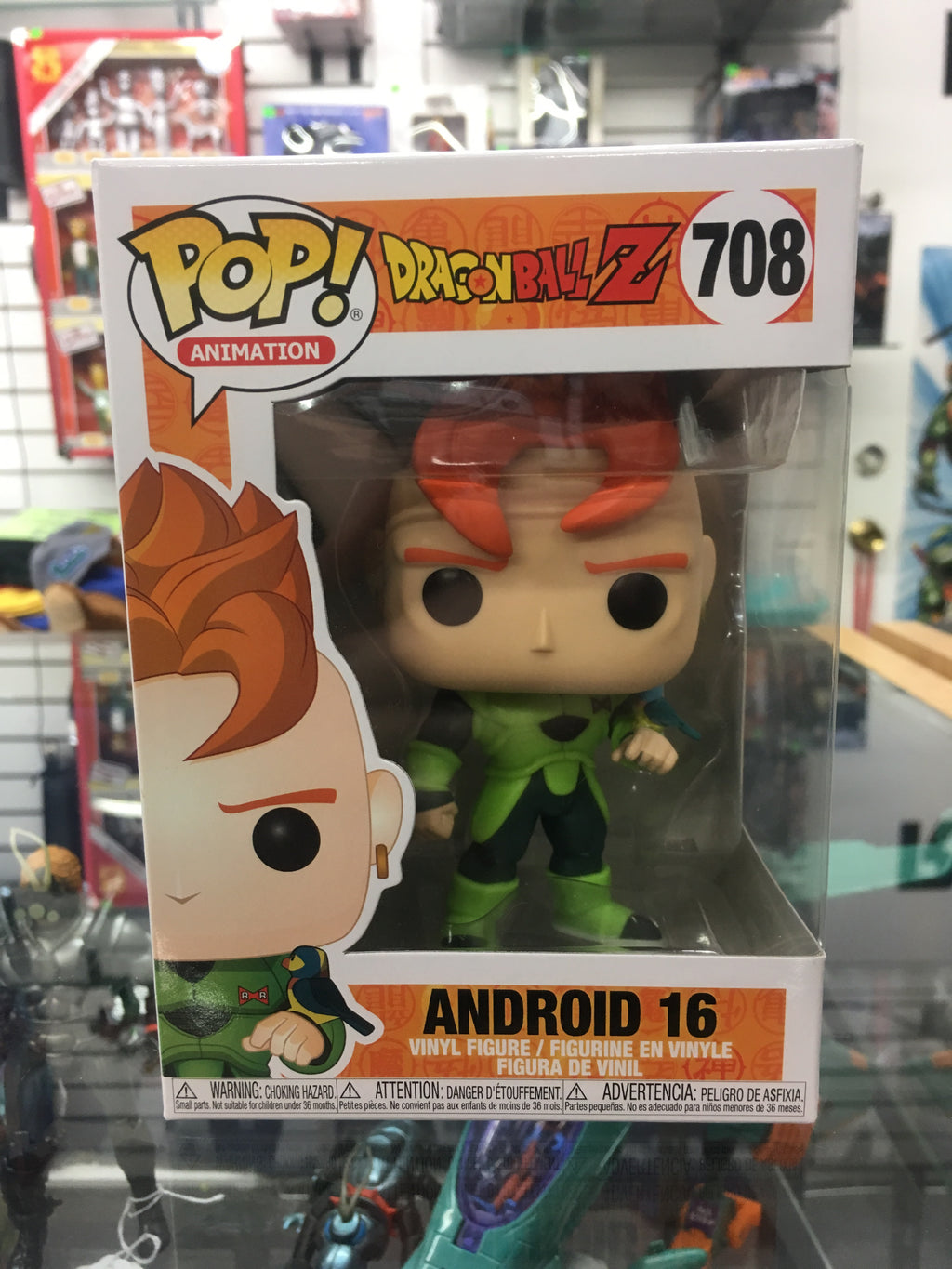 Funko POP! Animation- DragonBall Z Android 16 #708
