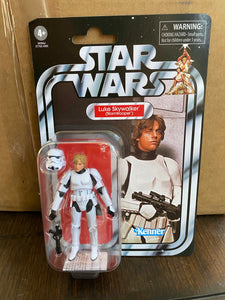 Hasbro Star Wars Vintage Collection Luke Skywalker Stormtrooper Disguise