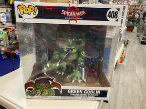 Funko POP! Marvel Spider-Man Into the Spider-Verse Green Goblin 408