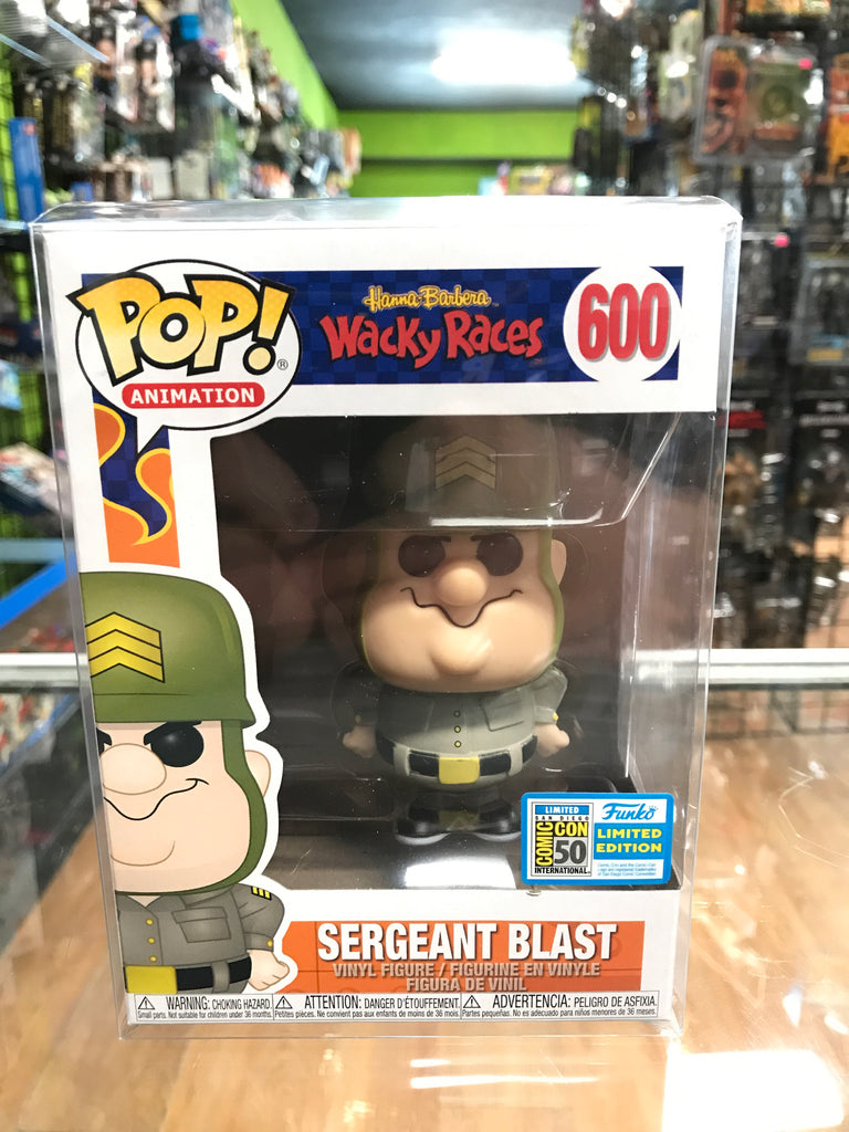 Funko POP! Television Wacky Races Sargent Blast SDCC 2019 Exclusive
