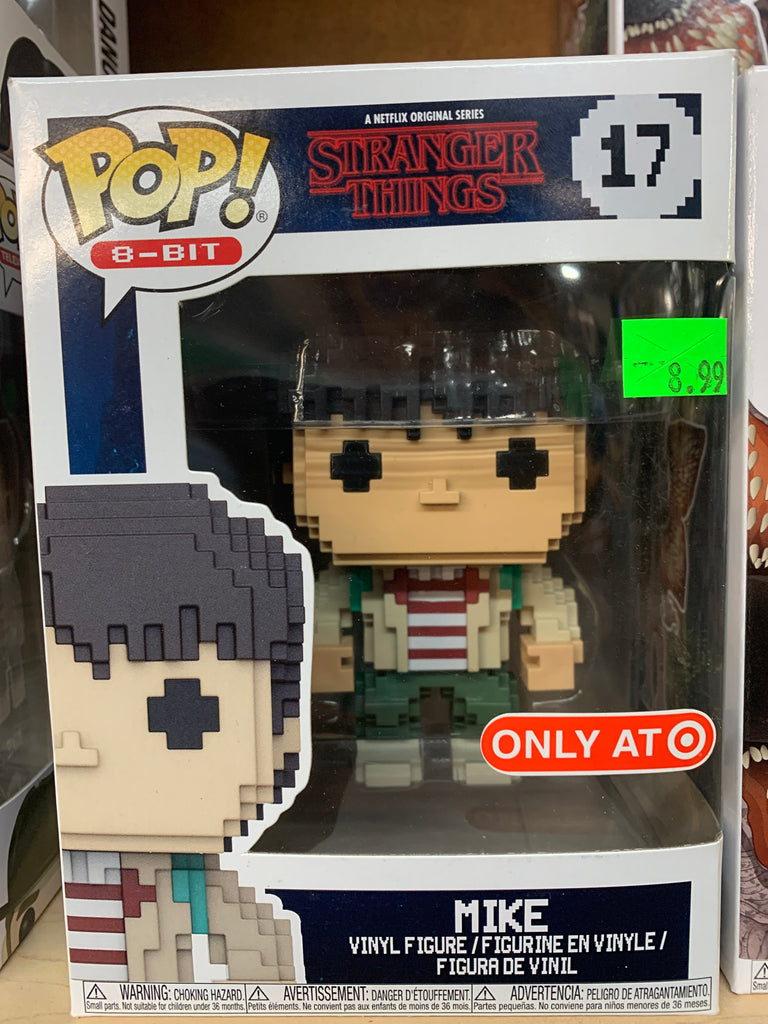 Funko POP! Television Stranger Things Mike #17 Target Exclusive)