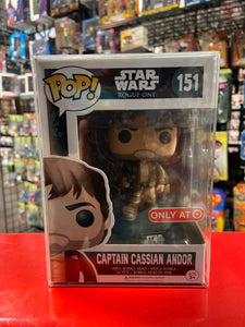 Funko Pop! Star Wars Rogue One Captain Cassian Andor #151 (Target exclusive)
