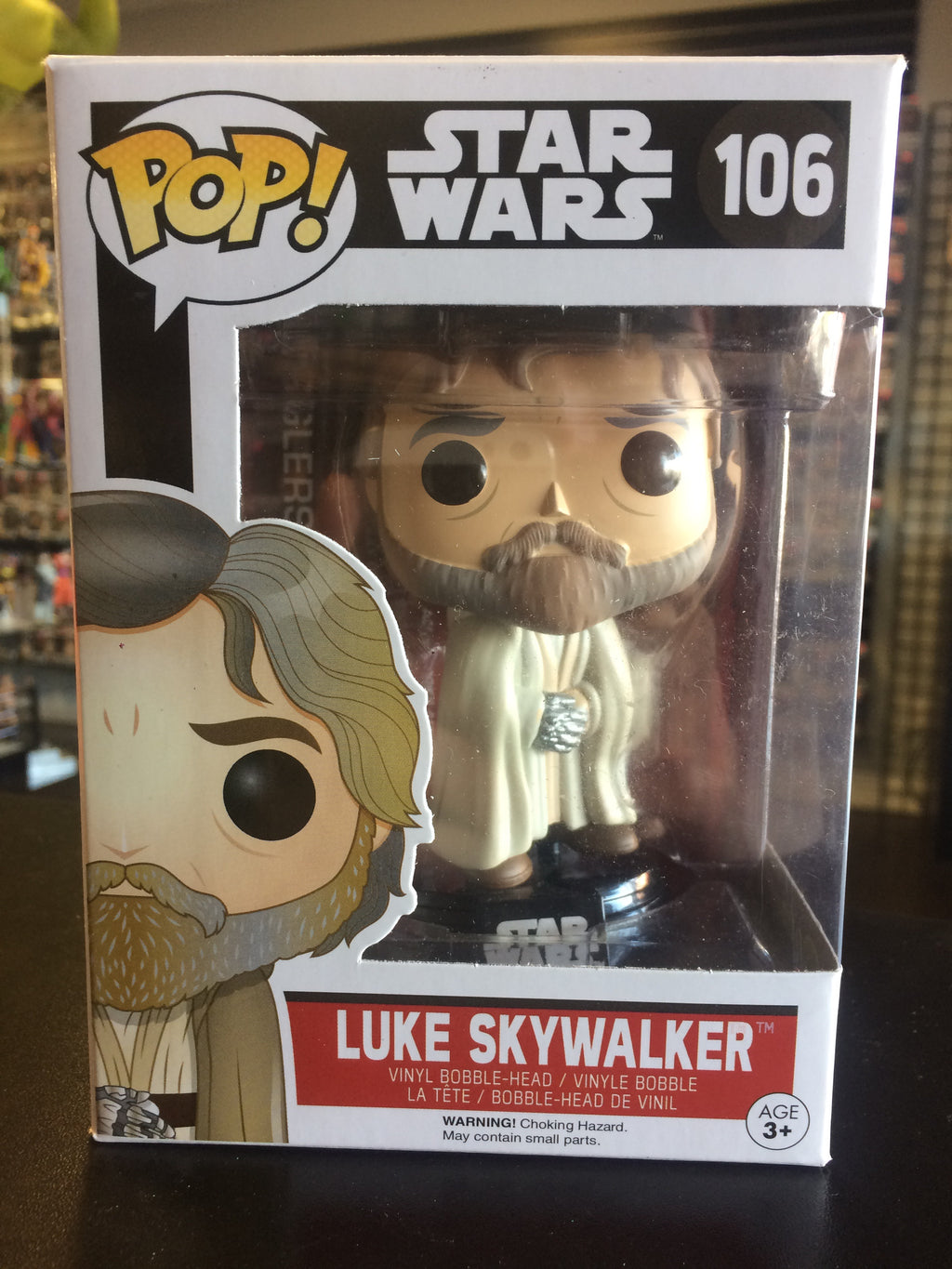Funko Pop! Star Wars Luke Skywalker #106