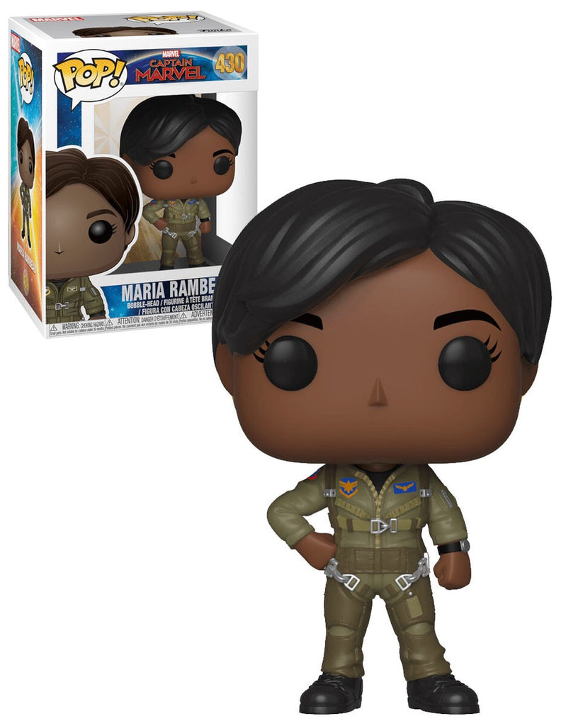 Funko Pop Marvel Captain Marvel Maria Rambeau #430