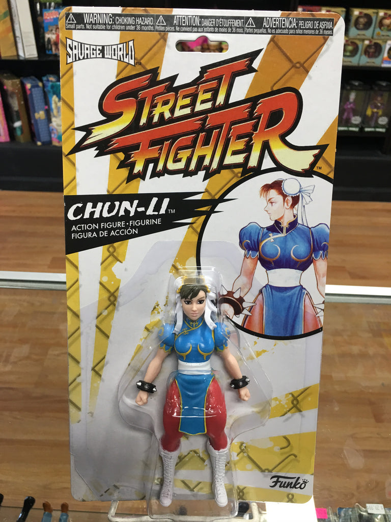 Funko Savage World Street Fighter Chun-Li