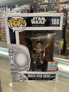 Funko POP! Star Wars Rogue One Death Star Droid #188 Fall Convention Exclusive