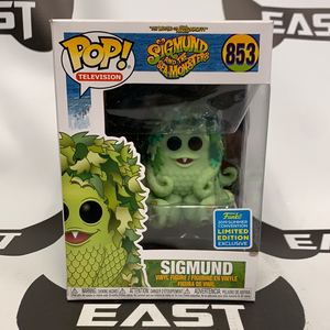 Funko POP! Television Sigmund And The Sea Monsters Sigmund 853 Summer Convention Exclusive
