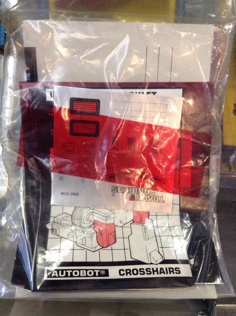 Transformers G1 Targetmaster Crosshairs